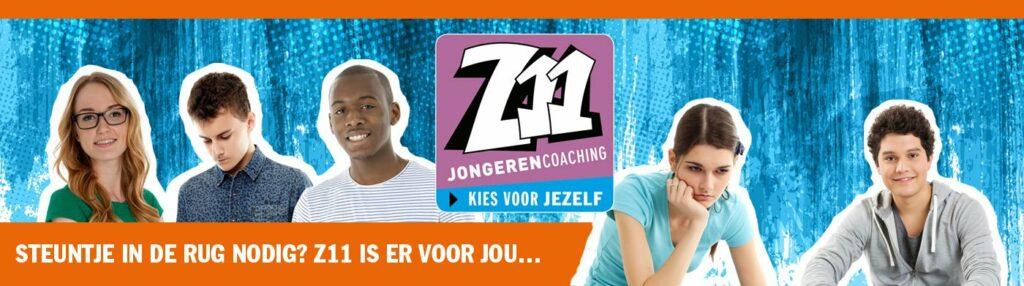 banner van Z11 Jongerencoaching