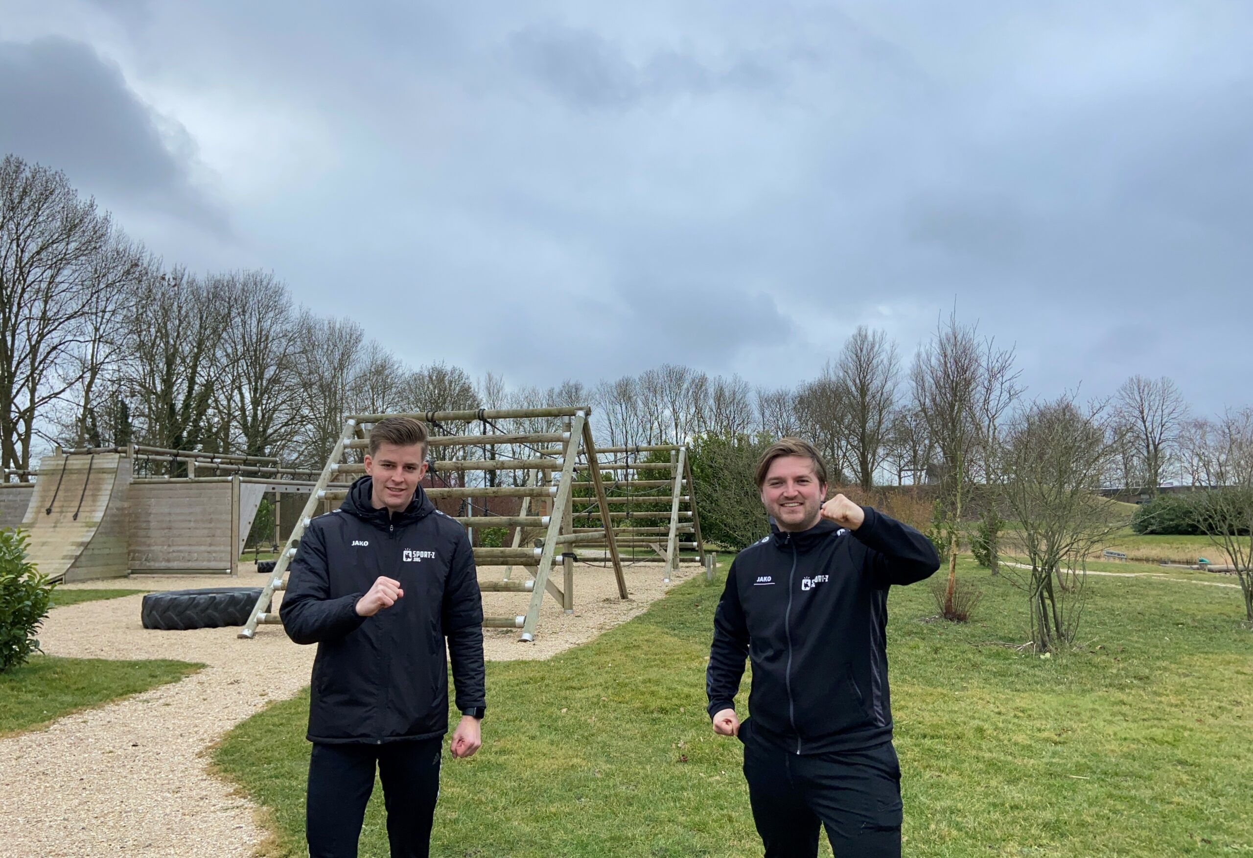 twee jongens van sport & outdoor