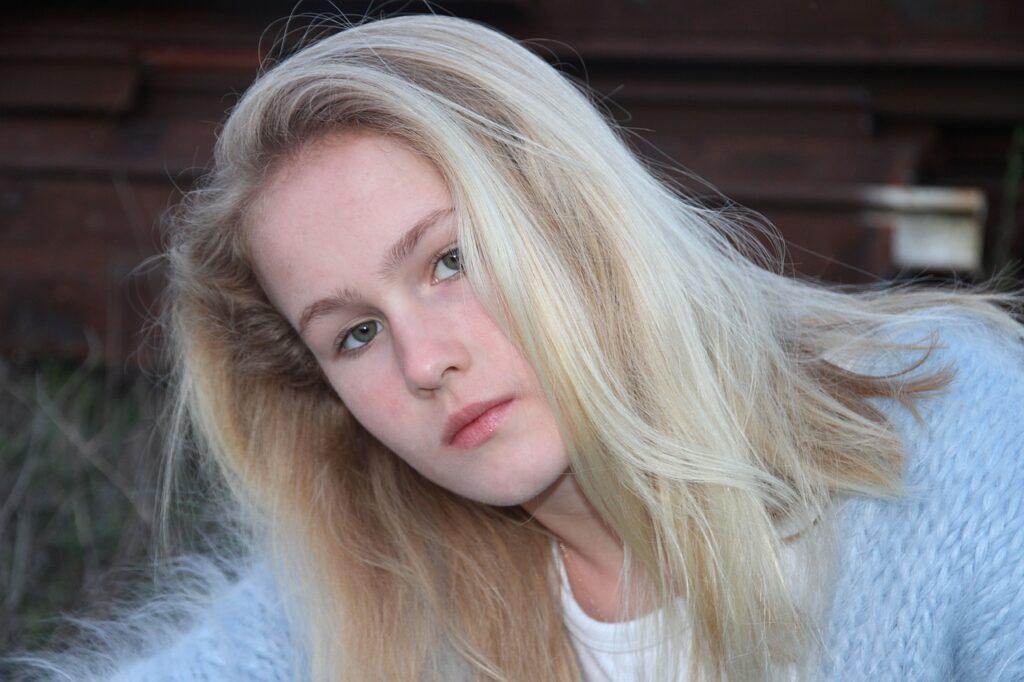 Portret van tienermeisje