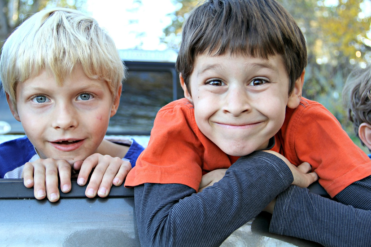 twee jongens